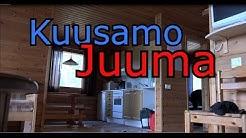Kuusamo Juuma leirintäalue mökkiesittely 2016