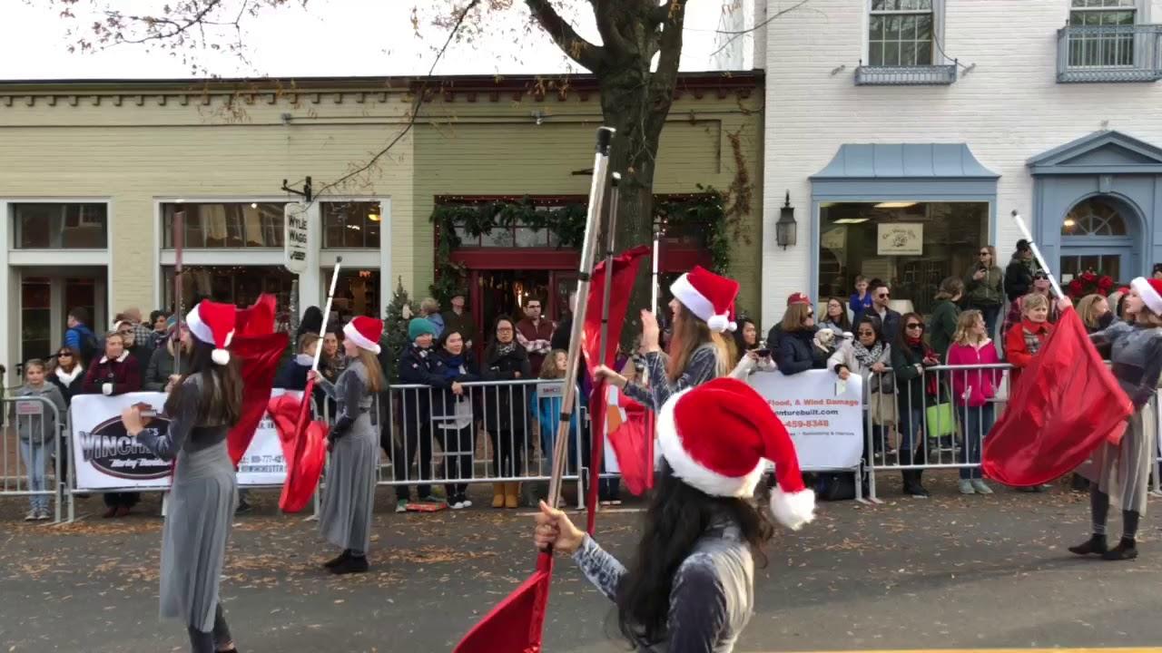 Middleburg Fl Christmas Parade 2019 Middleburg Christmas Parade 2017 JCHS Marching Band 2   YouTube