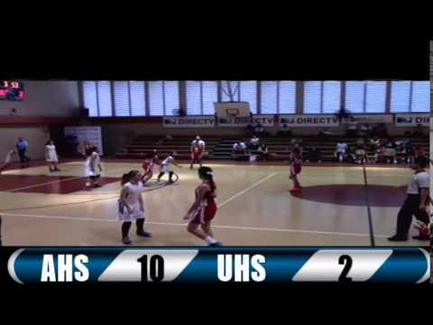 UHS vs AHS - Final Baloncesto JV Fem Div A PRHSAA 2015