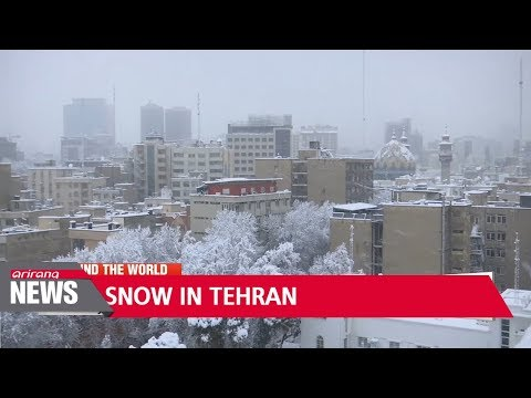 Heavy snow in Tehran cripples transport, closes schools