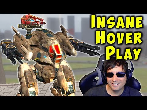 Insane HOVER Pulsar Gameplay - Flying War Robots Killer WR
