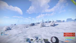 RUST gameplay 6 Sep 2017