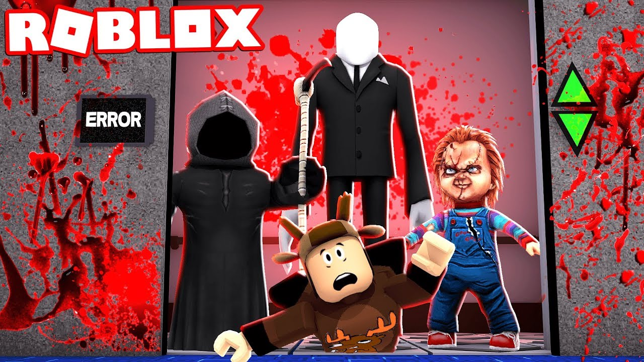 ROBLOX SCARY ELEVATOR! - YouTube