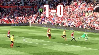 Manchester United v Watford, 1-0, Premier League, 13.05.18