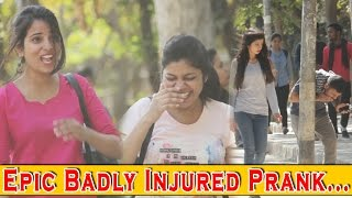 Epic Badly Injured Prank - Pranks In India 2017 | THF - Ab Mauj Legi Dilli