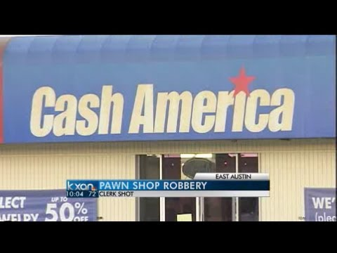 Masked Robber Robs Cash America Pawn