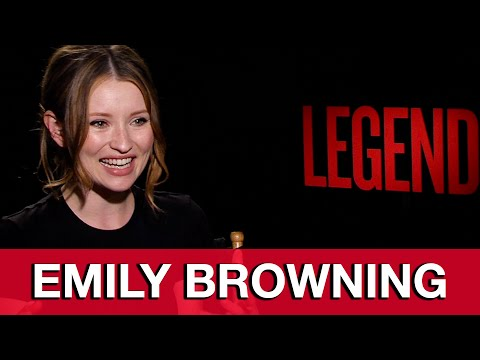 Legend Interview - Emily Browning