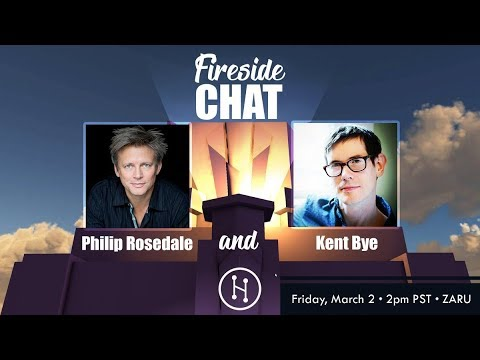 Fireside Chat in VR with Kent Bye and Philip Rosedale