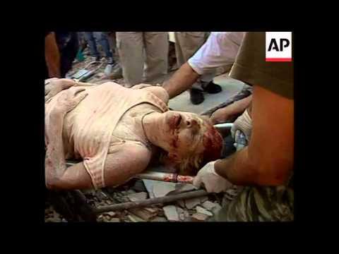 Greece: Athens: Earthquake Aftermath - 1999