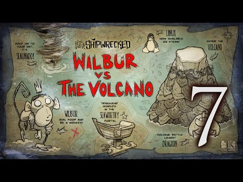 Don't Starve Shipwrecked WIlbur #7 - The First Monkey War of the Season