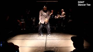 JUDGE SHOW DANCER TAE- SHOW DOWN VOL.1 All STYLE 1:1 ROOKIE BATTLE -KAC한국예술원