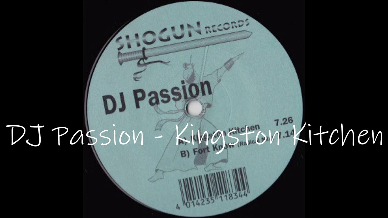 DJ Passion - Kingston Kitchen - YouTube
