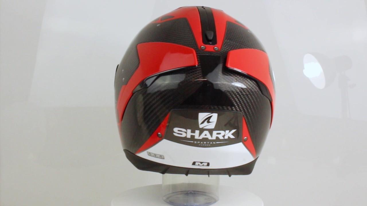 shark spartan carbon bionic youtube. Black Bedroom Furniture Sets. Home Design Ideas
