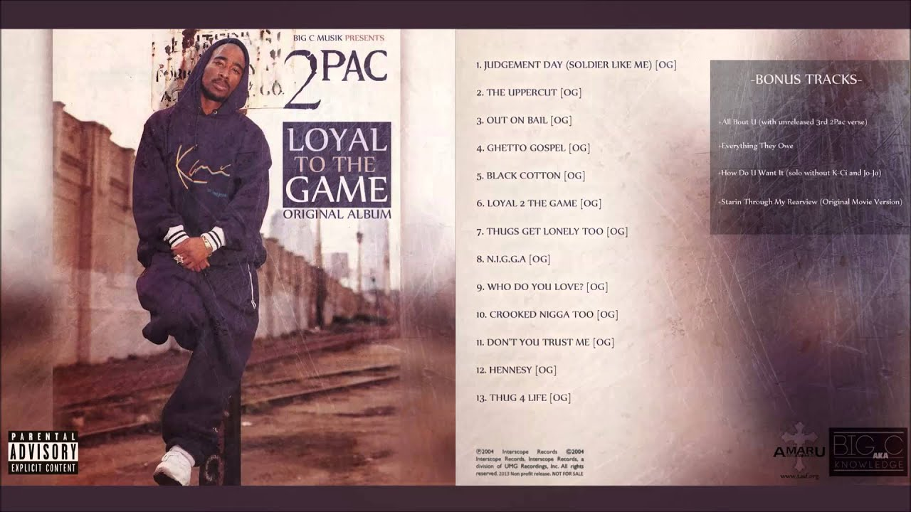 2Pac 👑 Loyal to the Game | Full Album | | HQ | - YouTube