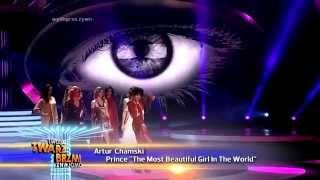 Artur Chamski jako Prince - Twoja Twarz Brzmi Znajomo