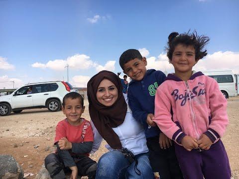 مخيم الزعتري - في مهمة مع ال UNHCR الجزء الثاني #زينب_العقابي