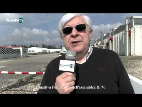 L'inattiva Perlini sede dell'assemblea BPVi