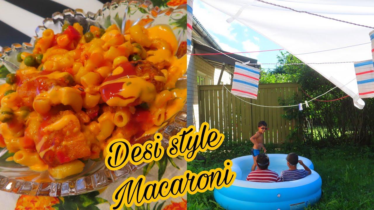 Lagta Hai Abb To Aisa He Rehay Ga Yeh Mausam ||Desi Style Fish Macaroni ||Pakistani Mom Vlog 2020