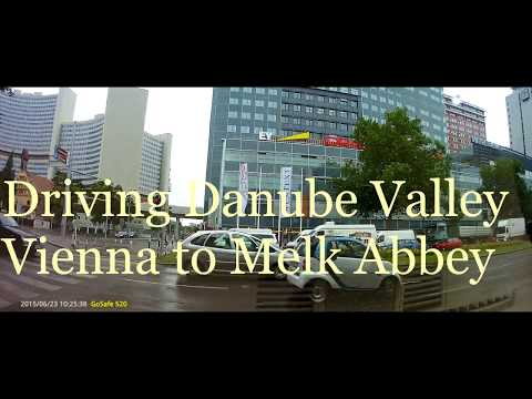 Driving thru Wachau (Danube) Valley - Vienna to Melk Abbey