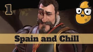 Video Civ 6 Spain Ep. 1 Let's Play - Emperor and Chill download MP3, 3GP, MP4, WEBM, AVI, FLV Januari 2018