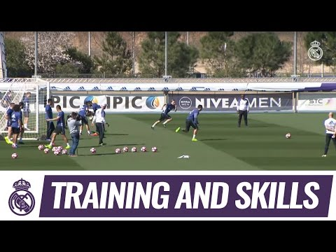 High-intensity training two days before the visit of Betis!