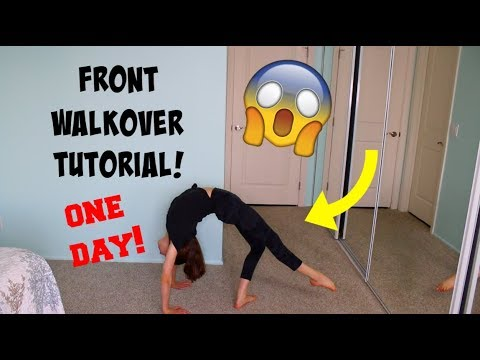 HOW TO GET YOUR FRONT WALKOVER IN ONE DAY!