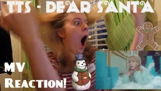 TTS/TaeTiSeo/태티서 - Dear Santa (Eng. Ver) MV Reaction - Hannah May