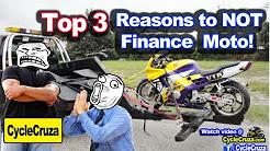 Top 3 Reasons To AVOID Financing a Motorcycle! | MotoVlog