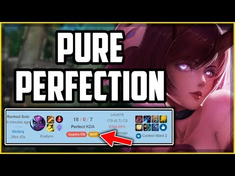 How to Play Evelynn Perfectly in 18 Minutes - League of Legends