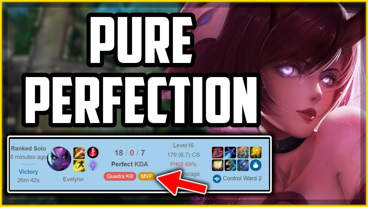 How to Play Evelynn Perfectly in 18 Minutes - League of Legends thumbnail