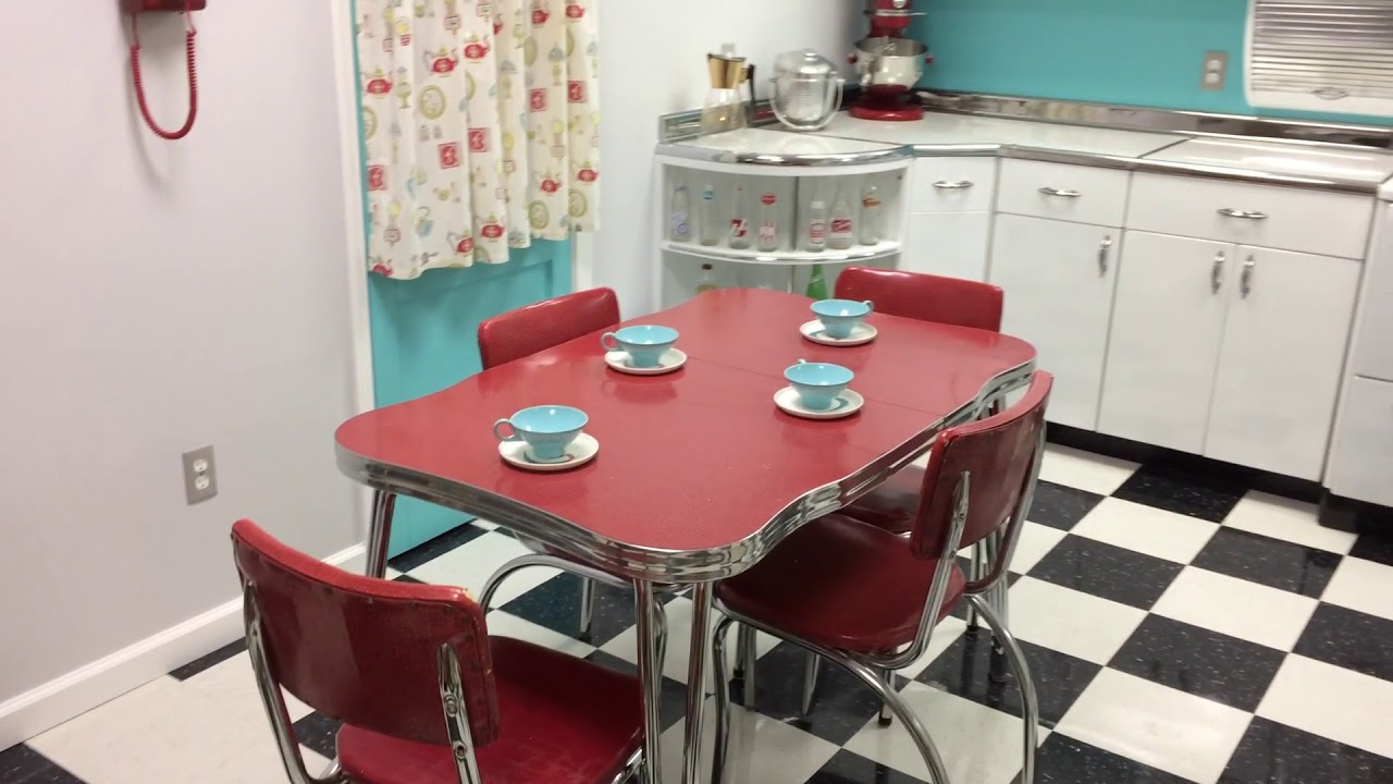 Beau Restored Youngstown Kitchens Cabinet Set