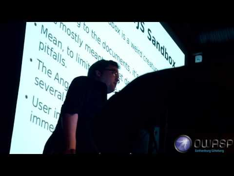 [re-upload] Mario Heiderich An Abusive Relationship with AngularJS