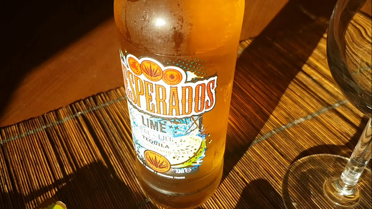 Biere Aromatisee Tequila Desperados Lime Youtube