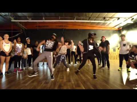 Kaycee rice , Tati Mcquay , Bailey Sok  crzy kehlani , Matt Steffanina choreography