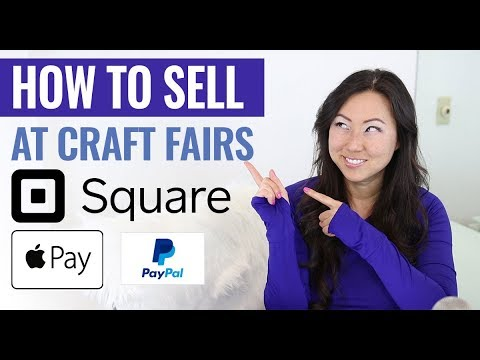 How To Sell at Craft Fairs – How To Accept Payments In Person