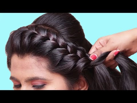 How to do Braided Hairstyle for School Girls ★ Last Minute Hairstyles for Girls ★ Hairstyles 2019 thumbnail
