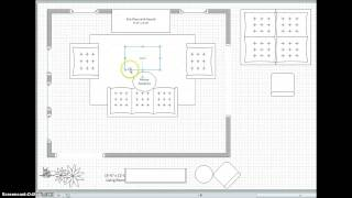 Space Planning for a Living Room