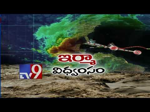 Hurricane Irma hits Florida as category 4 storm - USA - TV9