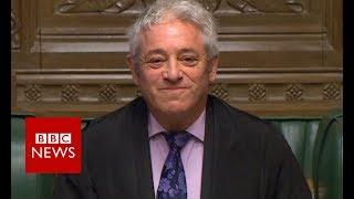 Speaker statement about Corbyn comments - BBC News