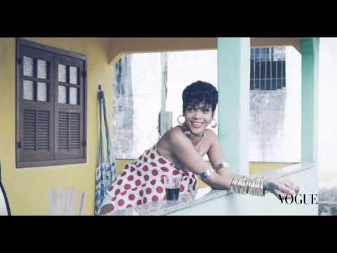 Rihanna x Mariano Vivanco VOGUE Brasil cover shoot bts