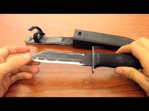USN MK3 MOD 0 Combat Knife Damaged By Sheath | Knife Reviews By Ice