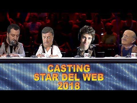 CASTING STAR DEL WEB 2018