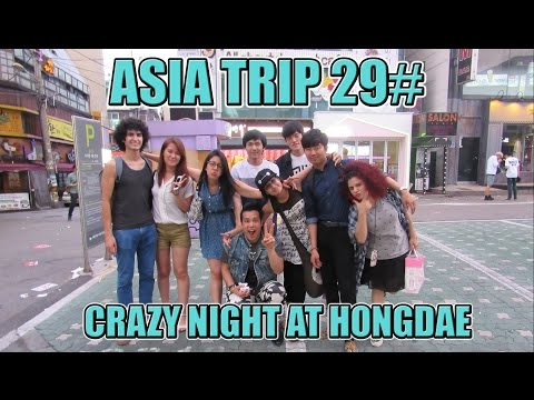 Crazy Night at Hongdae! Party with Random People LOL | Seoul Vlog | KOREA Mp3