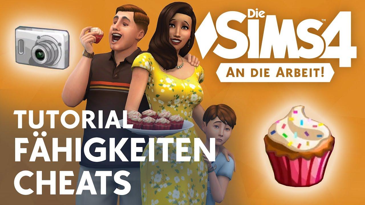Die Sims 4 Tutorial Backen Fotografie Fähigkeiten Cheats Youtube