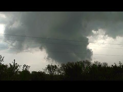 April 2011 tornado outbreak - First tornado warning April 14