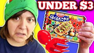 GROSS!! Testing 3 Weird Japanese Craft DIY Candy Kits under 3$ Cash or Trash