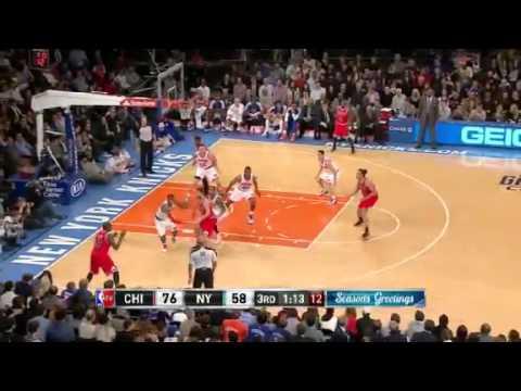 Bulls vs. Knicks NBA 2012-13 Season Dec 21, 2012