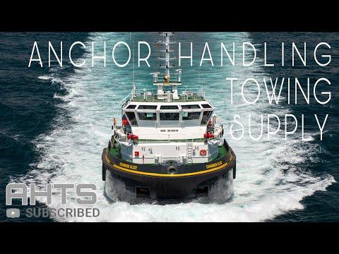 Anchor Handling Tug Supply |Vessels Type (AHTS) | Anchor Job