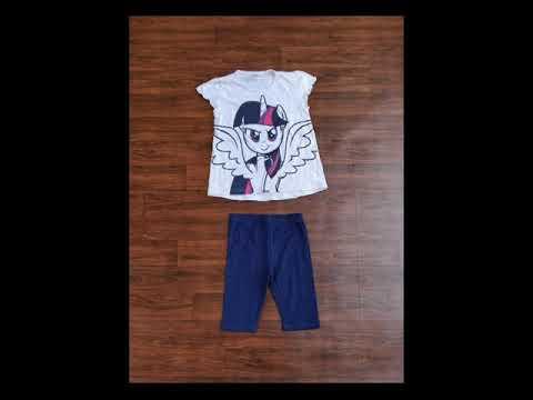 Hello Kitty Pyjama Set Girls Frocks Baby Rompers Clothes Kids Dress Jacket #vanakkamgarments