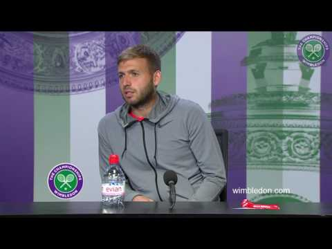 Dan Evans second round press conference